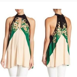 Free People Beat of my heart tunic top